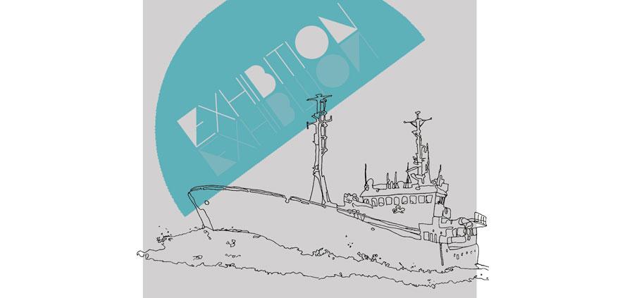 solo exhibition announcement