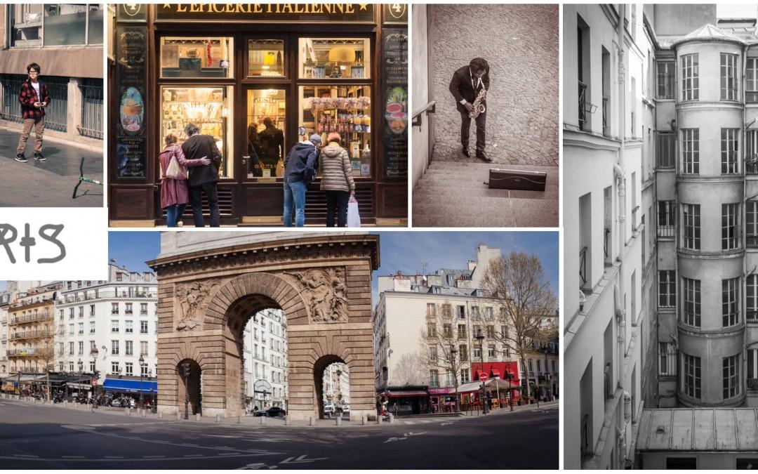 Anastasia Parmson, photos from Paris