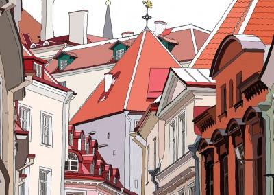 Roofs of Tallinn, 2014