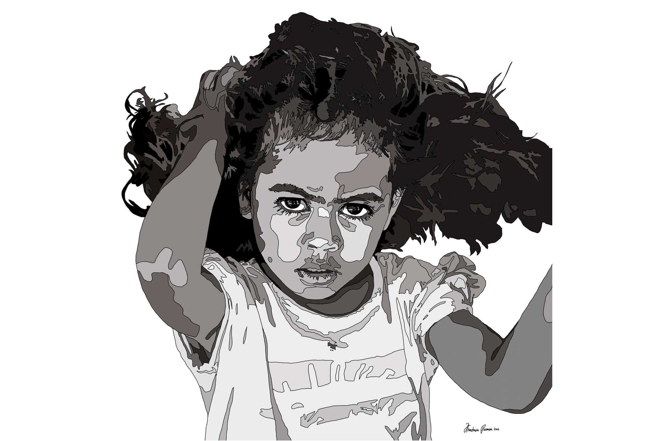 Untitled (Yasawa Girl) by Anastasia Parmson
