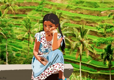 Untitled (Girl in Bali)
