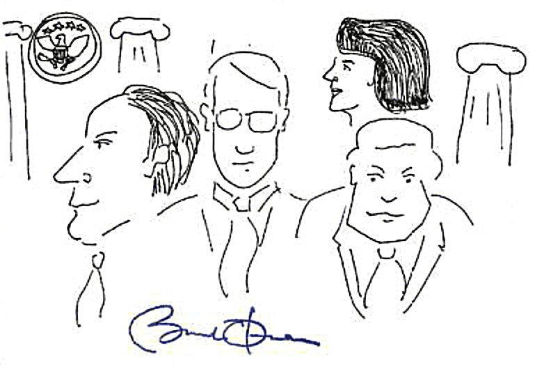 Obama's doodle