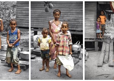 Nakasa Village Triptych