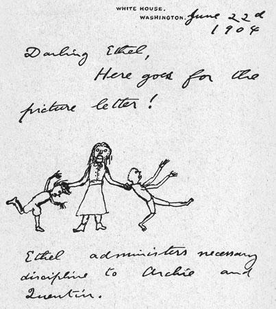Roosevelt's doodle