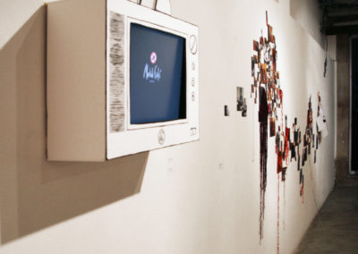 Morbid Café TV, 2004-2009 - 3D drawing and video at Apollonia gallery