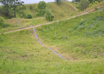 Straight Line (Sirgjoon), 2014 - Kilometre of Sculpture public art exhibition in Rakvere, Estonia
