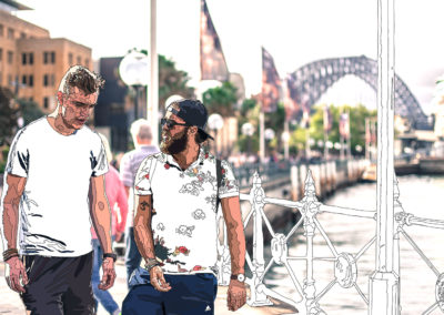 Untitled (Circular Quay Hipsters), 2016