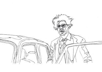 Untitled - first experiments (Johnny Depp movie still)