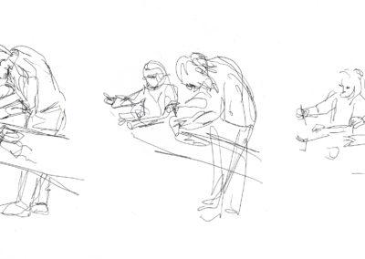 Sketching progress