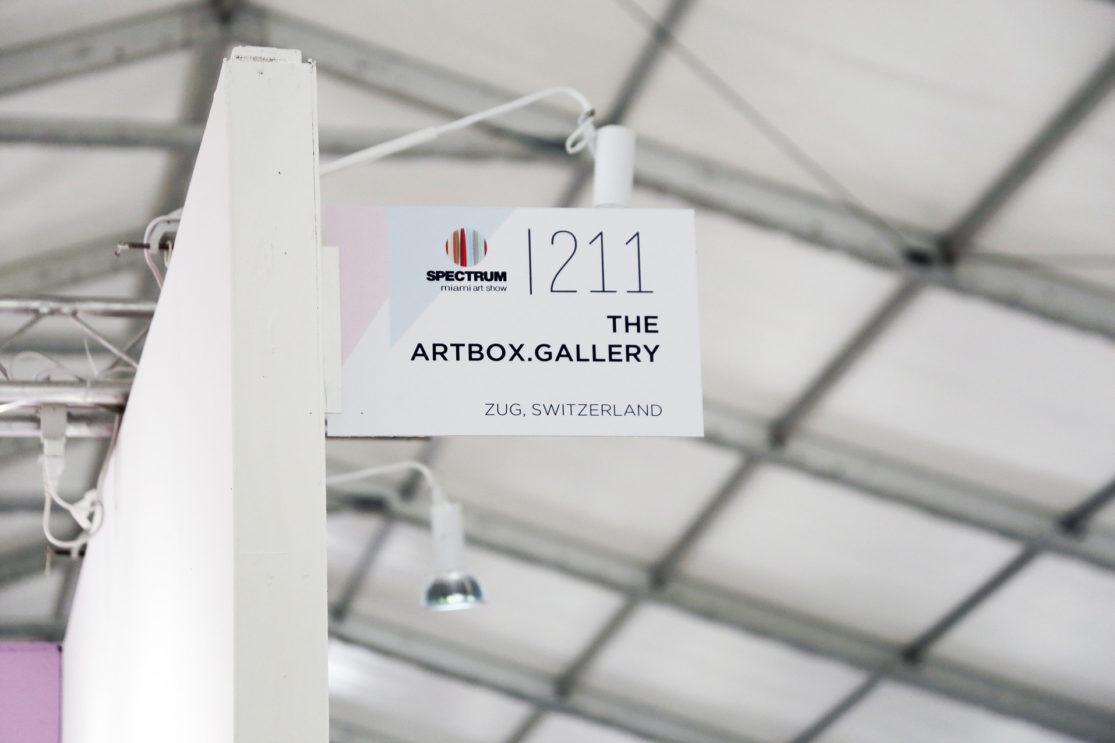 Exhibiting with Artbox Gallery at Spectrum Miami